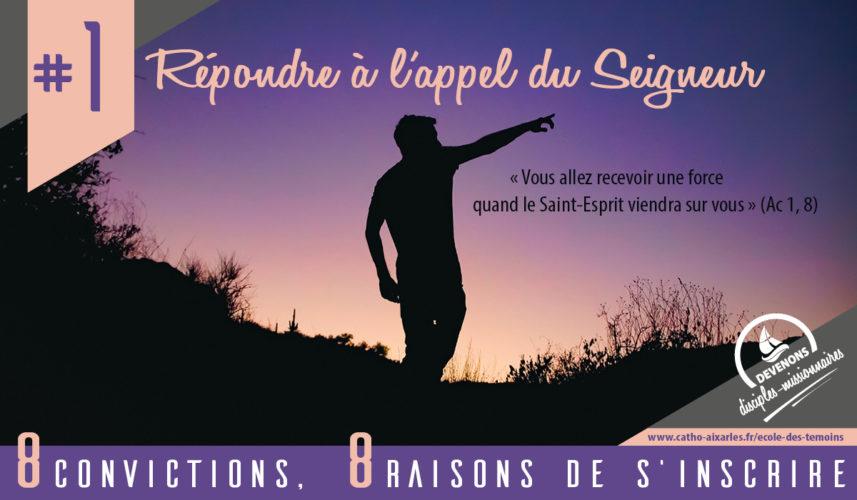 Ecole des témoins - 8 convictions (1)