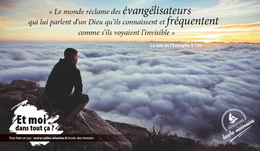 Ecole des témoins - Joie de l'Evangile (9)